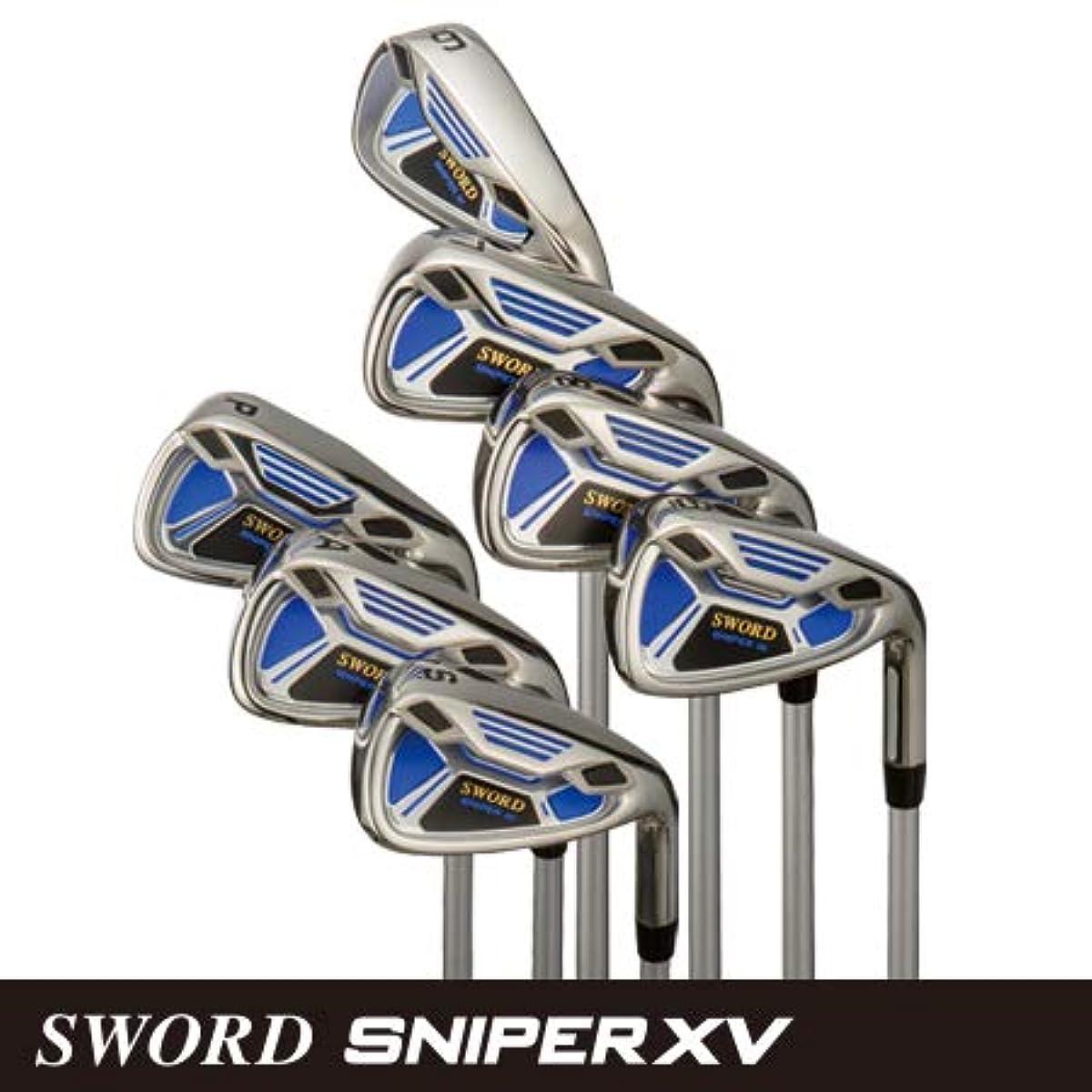 [해외] 카퍼터나 골프(KATANA GOLF) SWORD SNIPER XV IRON(#6,#7,#8,#9,PW,AW,SW)아이언7개 세트