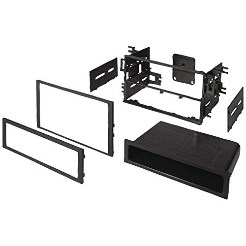 BEST KITS BKHONK830 In-Dash Installation Kit (Honda®/Acura® 1986 & Up Double-DIN/Single-DIN with Pocket)