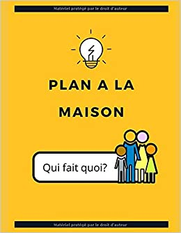 Amazon Plan Pour Les Enfants Du Foyer 8 Semaines De Planning Pour Les Taches Des Enfants A La Maison Lun Dim Pro Luis Consumer Guides
