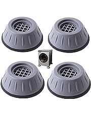 Universele Rubberen Voeten Wasmachine Washer Pad Antislip Anti Vibratie Wasmachine Voeten Antislip Demper Ronde Meubels Rubberen Voetjes Geluiddempende Pads Rubberen Droger 4 Stukken