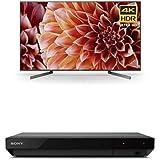 Sony XBR75X900F 75-Inch 4K Ultra HD Smart LED TV and UBP-X700 4K Ultra HD Blu-ray Player