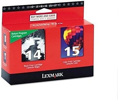 Lexmark 43XL + 44XL - Cartuchos de tinta para impresora (2 ...