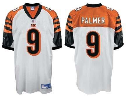ebbacf309b1 Reebok Cincinnati Bengals Carson Palmer Authentic White Jersey Size 52