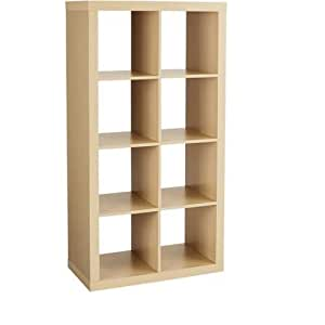 Better Homes And Gardens Furniture 8 Cube Room Organizer Storage Birch Kitchen Dining
