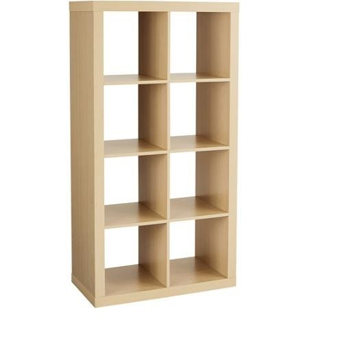 Better Homes and Gardens Furniture 8-Cube Room Organizer Storage Birch