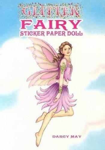 Glitter Fairy Sticker Paper Doll (Dover Little Activity Books Paper Dolls) (Fairy Paper Dolls)
