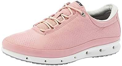 ECCO Women's Cool Training Shoes, Red (Silver Pink), 35 EU