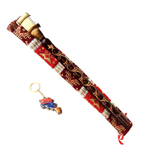 Armenian DUDUK Handmade From ARMENIA - Apricot Wood Professional Woodwind Instrument - Oboe Balaban - Gift Playing Instruction and national case by HandCraftoria