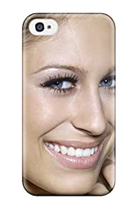 SaundraVillard Iphone 4/4s Hybrid Tpu Case Cover Silicon Bumper Women Face