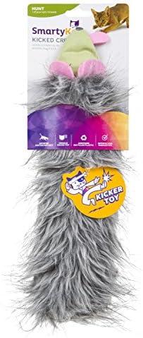 SmartyKat Kicked Critter Kicker Plush Cat Toy 2