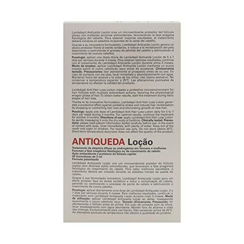 Amazon.com : Lambdapil Hair Loss Lotion 3ml x 20 Single Dose - Hair Care - Hair Loss Treatment - Hair Regrowth Lotion - Spain : Beauty