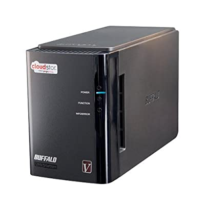 Buffalo CloudStor Pro 2-Bay, 1-Drive 2 TB (1 x 2 TB) RAID High Performance Personal Cloud Storage - CS-WV2.0/1D