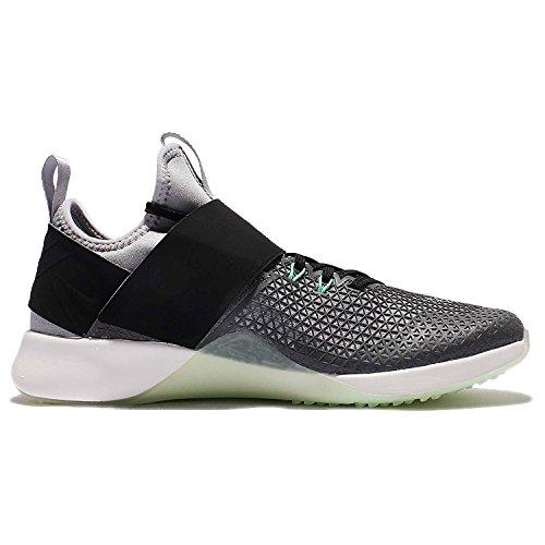Nike Damen Air Zoom Strong Laufschuhe Wolf Grey / Summit Weiß - Schwarz