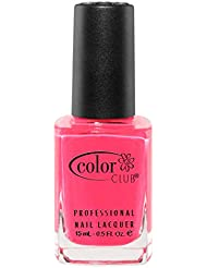 Color Club Poptastic Neons Nail Polish, Hot Pink, Jackie Oh.05 Ounce
