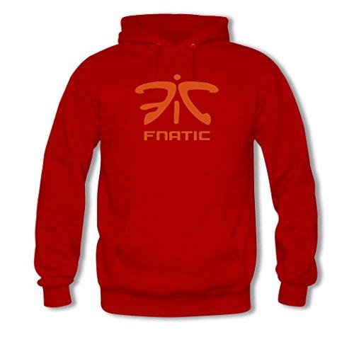 Hot Fnatic Logo For womens Printed Sweatshirt Pullover Hoody