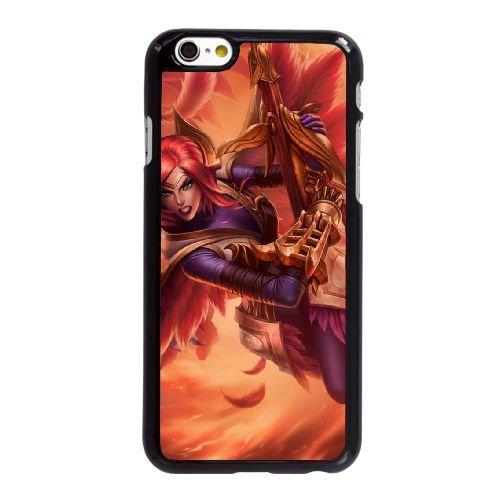 X4K55 League of Legends LOL Quinn Y4A3HH coque iPhone 6 Plus de 5,5 pouces cas de couverture de téléphone portable coque noire DM5CUC6WD