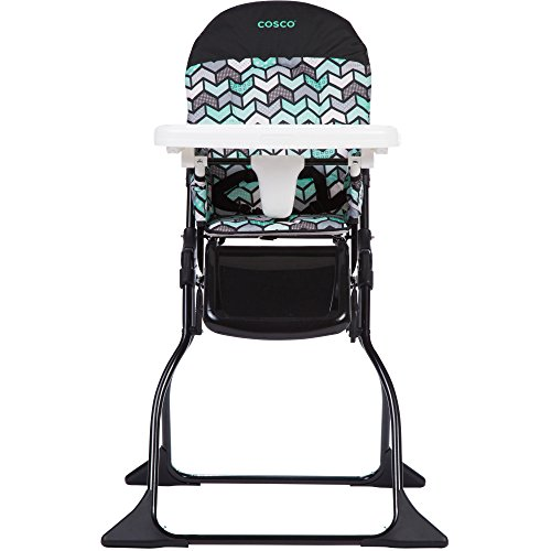 Cosco Simple Fold High Chair, Spritz (Table Chairs Cosco)