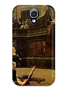 New Painting Artistic Tpu Case Cover, Anti-scratch YTqsbOF14356pBrvC Phone Case For Galaxy S4