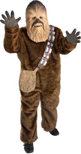 [Child Star Wars Costume - Deluxe Child Chewbacca Costume] (Wookie Costumes)