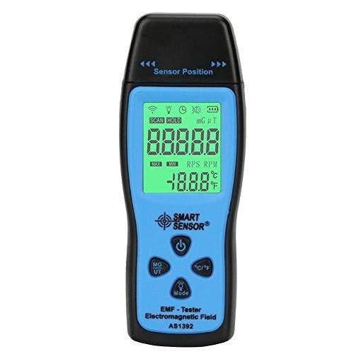 EMF Meter Electromagnetic Field Radiation Detector Handheld Mini Digital LCD EMF Detector Dosimeter...