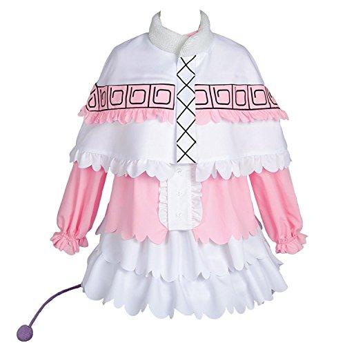 UU-Style Kobayashi-san Dragon Maid Kanna Cosplay Costume Pink