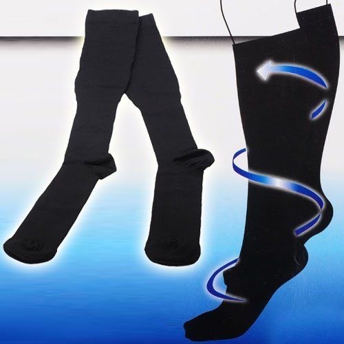 Unisex Miracle Anti-Fatigue Compression Socks - Black