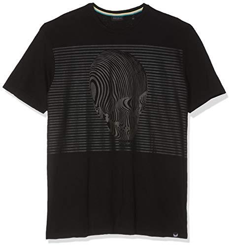 Homme Nixon shirt T black Kaporal Noir T wgCqnWaI