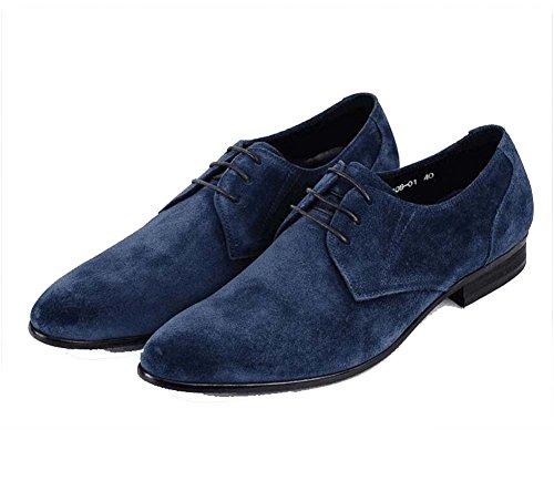 la Trabajo 38 Solos Hombres Tamaño los Respirable Color Zapatos de Moda de de Azul de de Zapatos los Atmósfera w4pxn