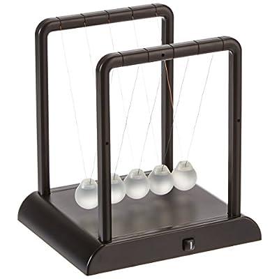 Toysmith Light-Up Newton's Cradle: Toys & Games