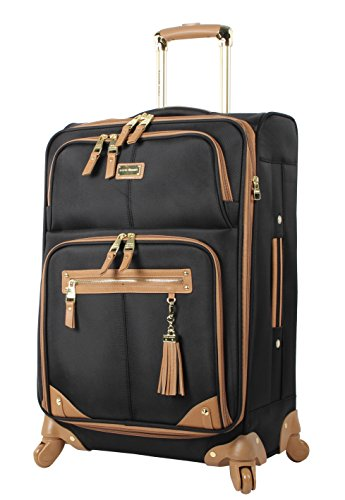 steve-madden-luggage-24-expandable-softside-suitcase-with-spinner-wheels-24in-harlo-black
