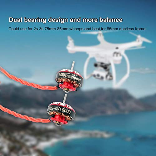 Wikiwand 10000KV Brushless Motor for Sailfly-X Mobula7 Original HD Drone 2s-3s