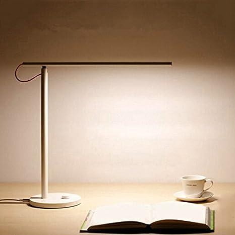 HELEISH Lámpara de Mesa Inteligente MJTD01YL LED Que atenúa la luz de Lectura para teléfono Celular Accesorios de iluminación LED