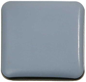Teflongleiter Möbelgleiter Stuhlgleiter eckig 30x30 mm selbstklebend PTFE Laflon