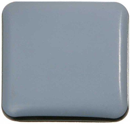 SBS ® Almohadillas para muebles 16-piezas Teflon autoadhesiva 30x30 mm PTFE Brillo Laflon Super delta SBS®