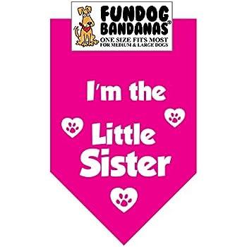 Im The Little Sister Dog Bandana