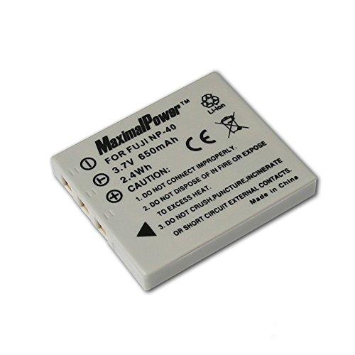 Maximalpower DB FUJ NP40 Rechargeable Li-Ion Battery for Fuji NP40,Kodak KLIC7005,Panasonic CGR-S004,Pentax D-Li8,D-Li85