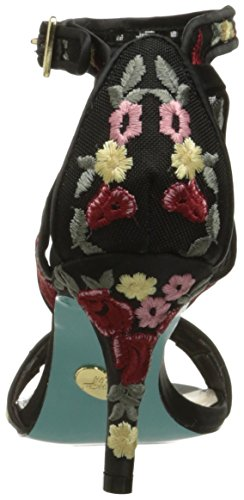 Floral Dress Black Sb Johnson Sandal Women's Betsey Madox R4I0wWq
