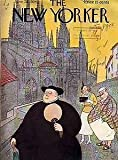 1934 New Yorker June 23 -Tourists and Friar alike