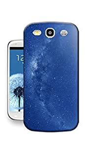 Blue Sky Slim Fit Hard Case Cover For Samsung S3 SIII Skin Protector Accessory