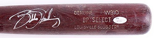 BUBBA STARLING SIGNED GAME USED LOUISVILLE SLUGGER BAT w/ JSA KANSAS CITY ROYALS