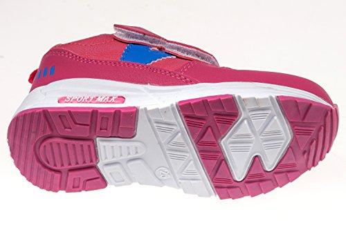 gibra - Zapatillas de Material Sintético para niño 33 Rosa - rosa