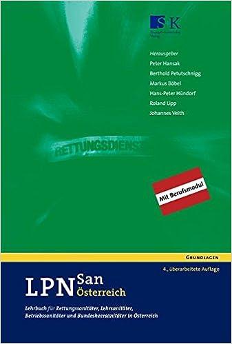Betriebssanitäter logo  LPN-San Österreich: Lehrbuch für Rettungssanitäter, Lehrsanitäter ...