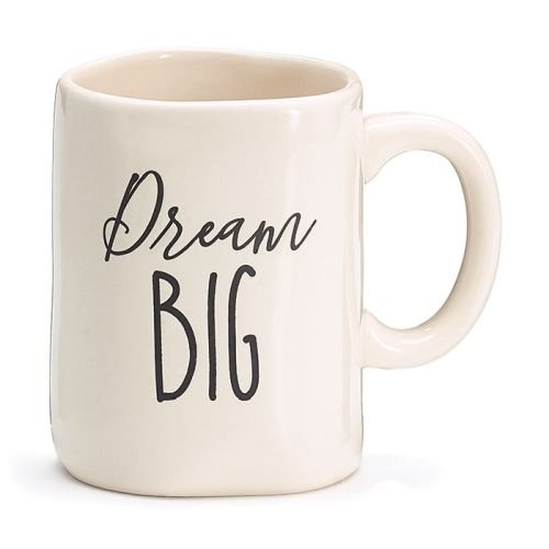 Burton and Burton 9731828 Dream Big Ceramic Mug with Box, Multicolor ()