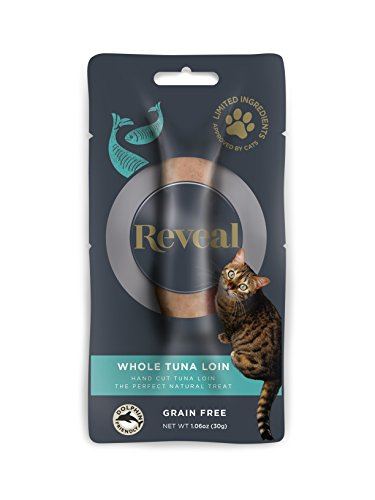 Reveal Cat Treat 1.06oz Tuna Loin - 12 Pack