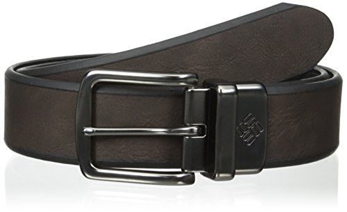 Columbia Brown Belt (Columbia Men's Bolivar 1 1/2 in.Beveled Edge Reversible Men's)