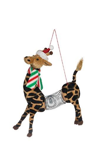 Sullivans Springer Giraffe Ornament Polyester Home Decor Brown (Ornament Frostys Favorite)