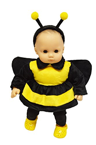 My Brittany's Halloween Bumble Bee Costume for Bitty Baby