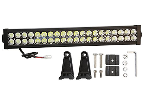 Prime Choice Auto Parts PLBAR22120A 22 Inch 120W LED Flood Spot Combo Light Bar (Led Light Bar For Dodge Dakota compare prices)