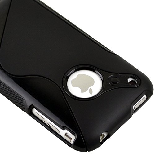Generic Black Rubber Cover Iphone