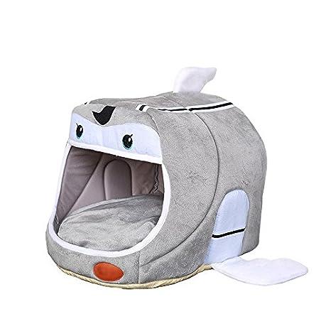 Pet Online Casa para gatos cálido pequeño barco four seasons disponible mascota casa de uso doble